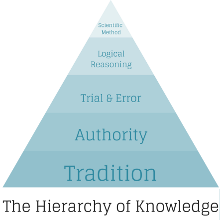 personal training hierarchy of knowledge