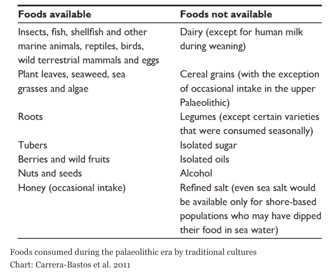 Paleo Ancestral Foods