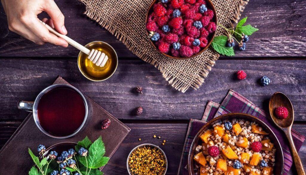 high fibre foods