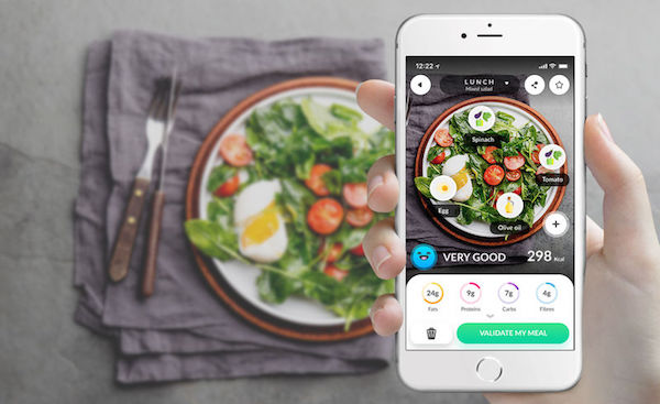 dietary self-monitoring food tracking