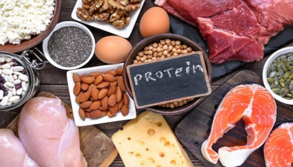 protein intake for muscle growth